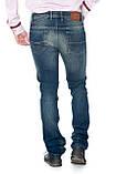 Зауженные джинсы Franco Benussi 13-269 темно-синие, фото 5