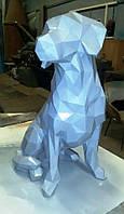"""3D фігура з паперу """"Собака """""""