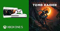 Консоль MICROSOFT XBOX ONE S 1TB+ Shadow of the Tomb Raider, фото 1