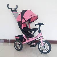 Детский трехколесный велосипед M 3113A-10 Turbo Trike, нежно-розовый