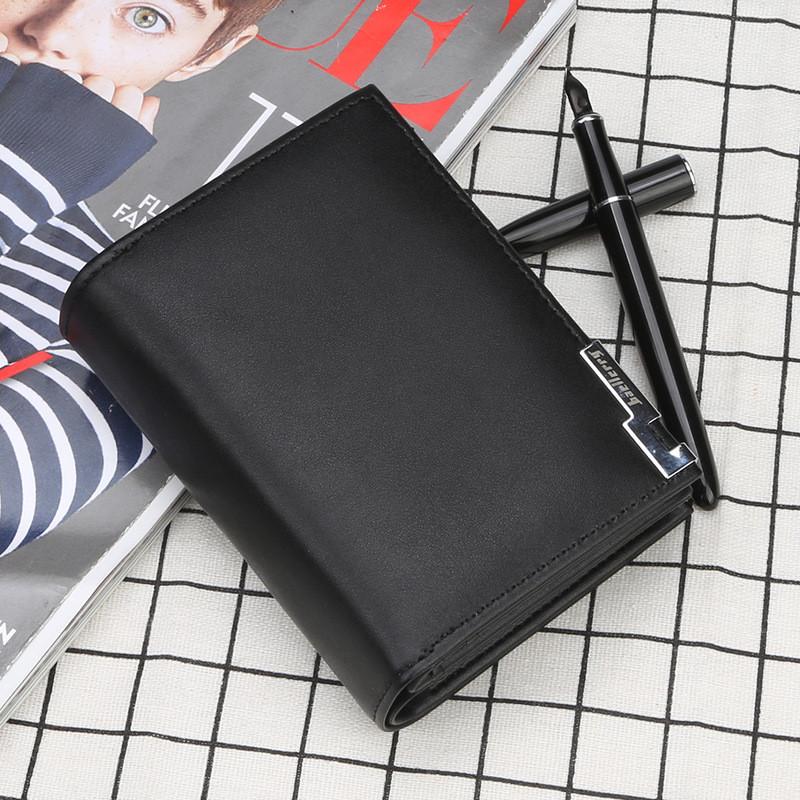 fab253a193a7 Мужской кошелёк Baellerry из качественной экокожи черный купить по ...