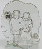 Кондитерская форма для шоколада EM1158, силикон (свадебная пара)