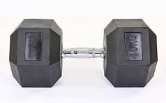 Гантель шестигранная гексагональная 40 кг SC-8013-40