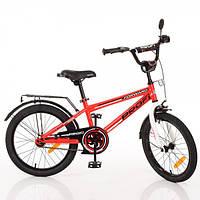 Детский велосипед Profi Forward T2075, двухколесный, 20 дюймов, красный