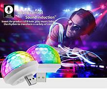 USB подсветка с музыкальным контроллером для дома, вечеринок, в авто