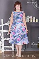 Летнее платье ПЛ3-183 р.44-52