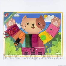 Бизиборд Кошечка игрушка для развития