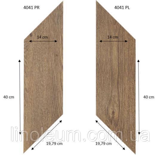 Вініловий паркет Forbo Effekta Professional 4041 (0,45мм) 40х14см