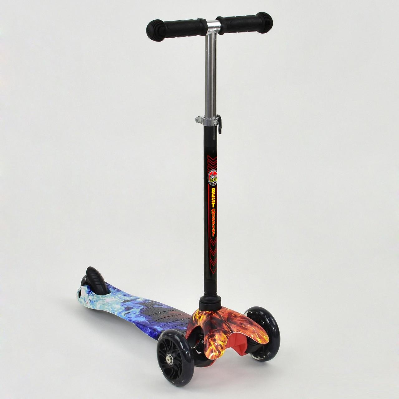 Самокат MINI Best Scooter 779-1297, светящиеся PU колеса
