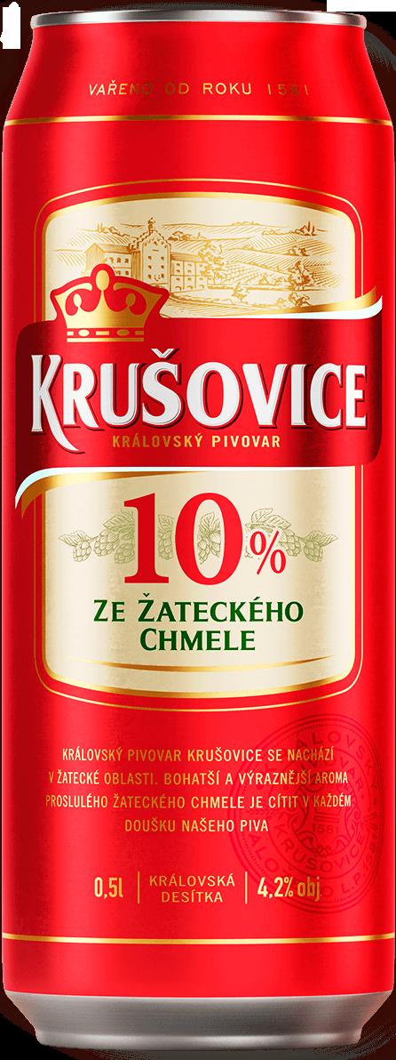 Пиво KRUSOVICE. Светлое 0,5л.
