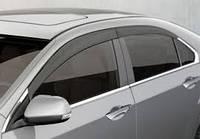 Дефлекторы окон (ветровики), темные, комлект. (EGR) - Accord - Honda - 2008 92434022B