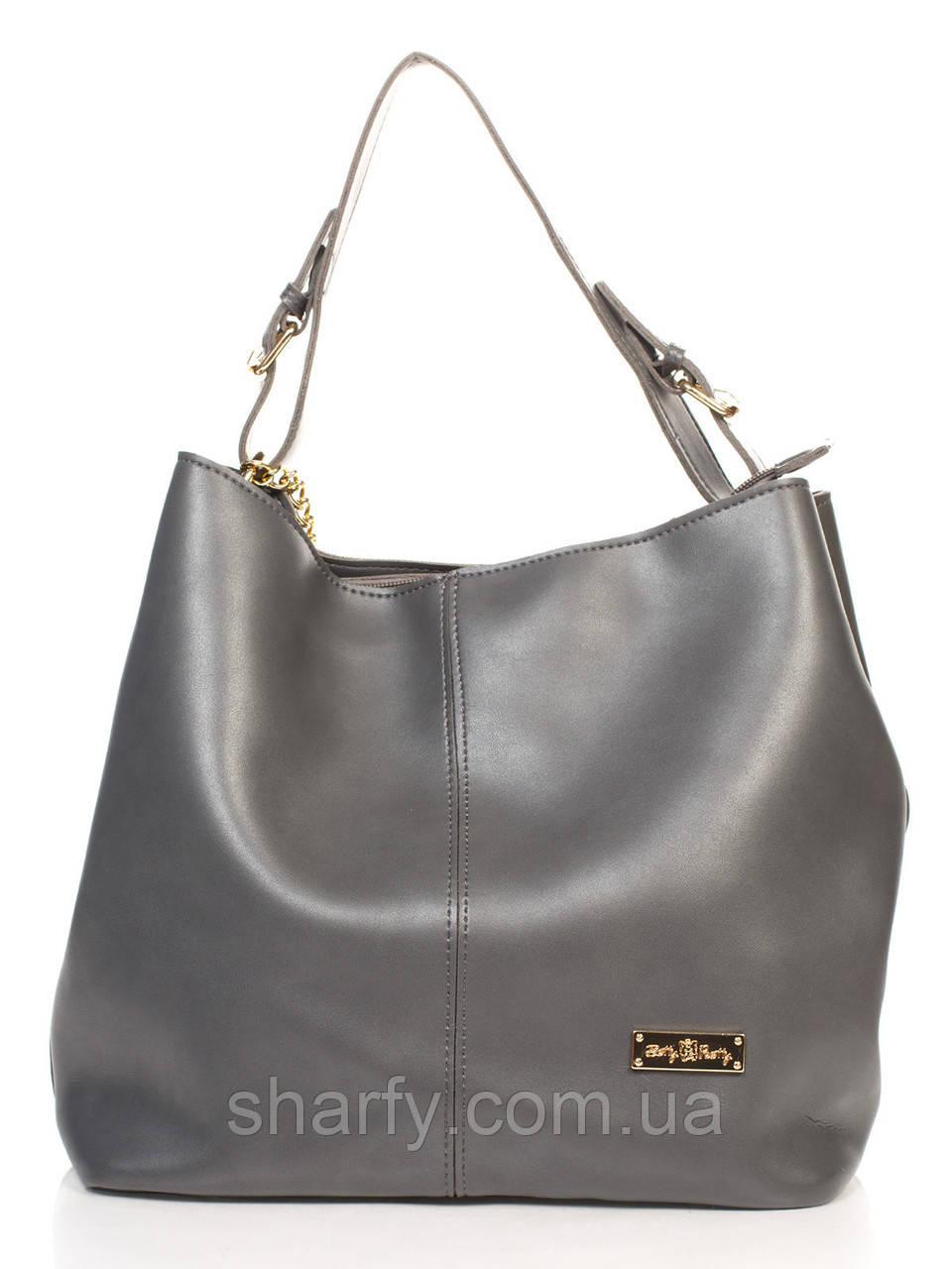 0f156e4afc7f Оригінальна сумочка-шопер у двох кольорах. Сірий темний. Замов свій колір! -