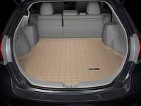 Коврик резиновый в багажник, бежевый. (WeatherTech) - Venza - Toyota - 2009
