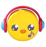 Cвисток детский музыкальный TOMY Птичка T72813C-3 желтый