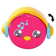 Cвисток детский музыкальный TOMY Птичка T72813C-3 розовый