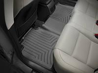 Коврики резиновые с бортиком, задние, черные. (WeatherTech) - Avalon - Toyota - 2013