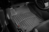 Коврики резиновые с бортиком, передние, черные. (WeatherTech) - Camry - Toyota - 2011