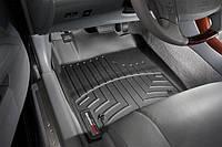 Коврики резиновые с бортиком, передние, черные. (WeatherTech) - Avalon - Toyota - 2005