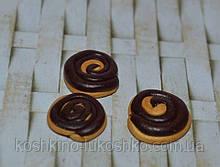 Булочки з шоколадом мініатюра