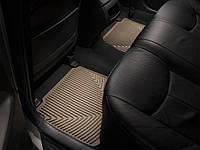 Коврики резиновые, задние, бежевые. (WeatherTech) - Prius - Toyota - 2010
