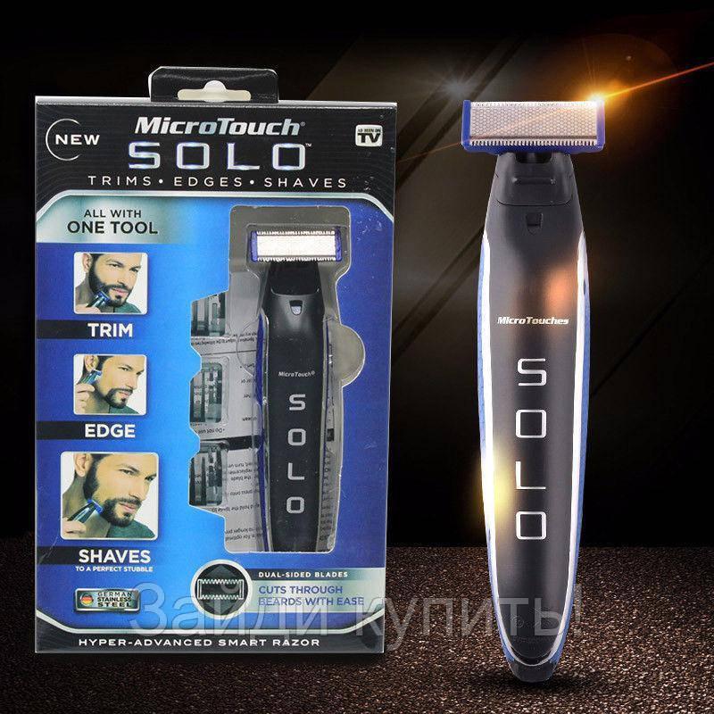 Триммер мужской универсальный MicroTouch Solo