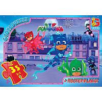 Детские пазлы из серии «Герои в масках» PGM08 G-Toys, 35 элементов