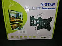 """Поворотное крепления для телевизора V-STAR 14""""-42"""" (УНИВЕРСАЛЬНОЕ), фото 1"""