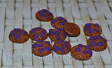 Овсяное печенье с изюмом миниатюра