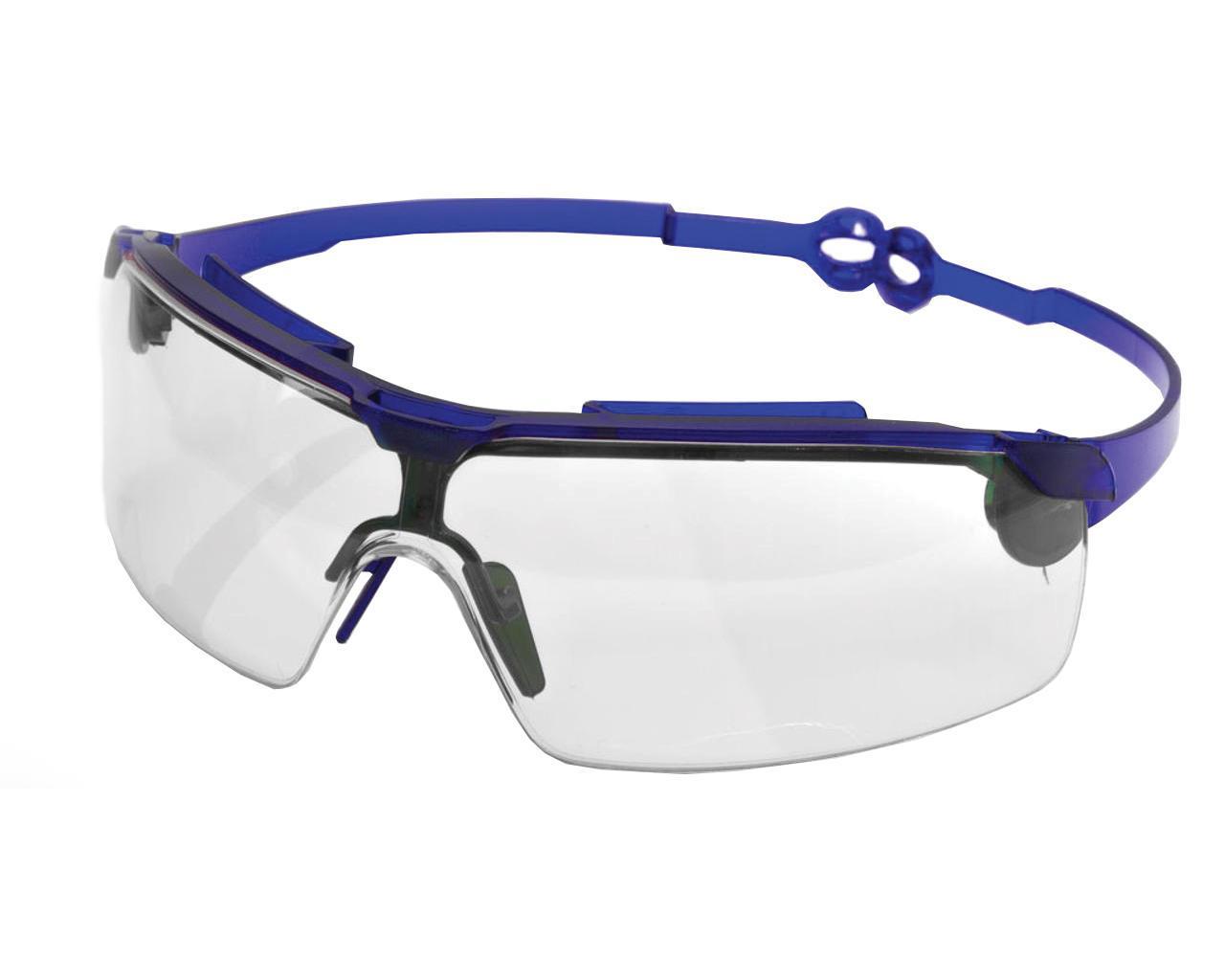 Очки защитные Драйвер прозрачные (поворотные удлинённые дужки, линза ПК, не потеющее, антицарапина)