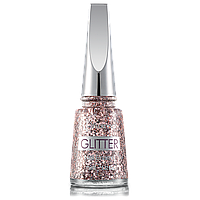 Лак для нігтів Flormar Glitter GL03 Ruby Light 11 мл (2739023)