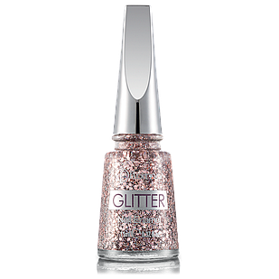 Лак для нігтів Flormar Glitter GL03 Ruby Light 11 мл (2739023)