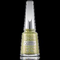 Лак для нігтів Flormar Glitter GL04 Gold Rush 11 мл (2739024)