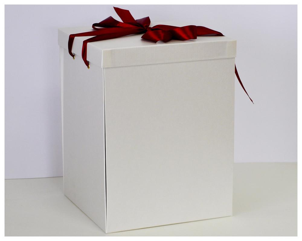 Коробка для троянди в колбі 22*22*33 див.
