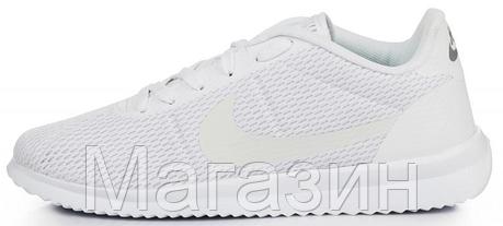 Мужские летние кроссовки Nike Cortez Ultra BR White Найк Кортес белые, фото 2