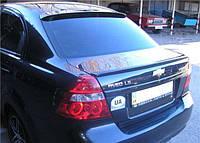 Лип-cпойлер на крышку багажника, UA - Aveo - Chevrolet - 2005