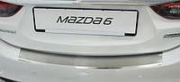 Накладка на задний бампер с загибом. - 3 - Mazda - 2013