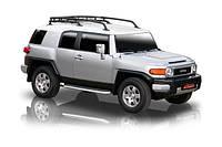 Подножки боковые, хромированные, к-т 2 шт. ROMIK - FJ Cruiser - Toyota - 2006