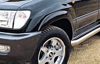 Расширители колесных арок, к-т 8 шт, черные (EGR) - Land Cruiser - Toyota - 1998