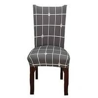 Чехол на стул натяжной Stenson R26292 45х40~65х50 см, фото 1
