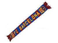 Шарф для болельщиков футбольного клуба Барселона