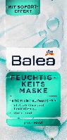 Увлажняющая маска для лица Balea Feuchtigkeit Maske, 2st. х 8 ml., фото 1