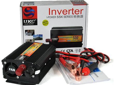Перетворювач напруги UKC 500W перетворювач електрики, інвертор Перетворювач напруги постійного струму, фото 2
