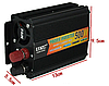 Перетворювач напруги UKC 500W перетворювач електрики, інвертор Перетворювач напруги постійного струму, фото 4