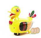 Развивающая игрушка «Уточка-несушка» (световые и звуковые эффекты) 20218 , фото 6