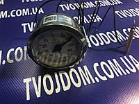 Термометр капиллярный PAKKENS Ø60мм,от-40 до+40°С,длина капилляра 1м Турция