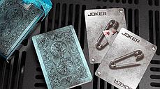 Карты игральные | Bicycle Metal Deck (Blue), фото 2