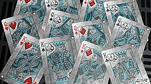 Карты игральные | Bicycle Metal Deck (Blue), фото 3