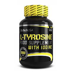 Л-тирозин BioTech L-Tyrosine 100 caps