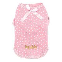 "Рубашка для собак Multibrand ""Dog Baby"" розовый (M)"