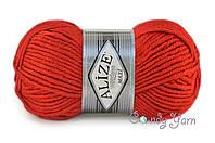 Alize Superlana maxi, №56 красный